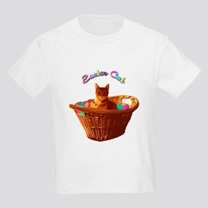 Easter Cat Kids T-Shirt