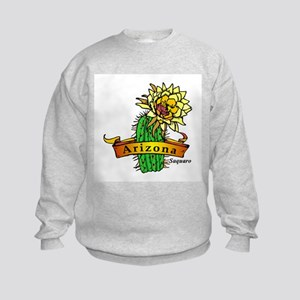Arizona State Flower Kids Sweatshirt