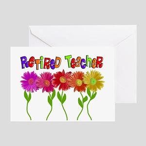 Retired Teacher 2 Greeting Card