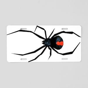 Redback Spider Aluminum License Plate