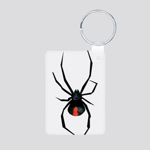 Redback Spider Aluminum Photo Keychain