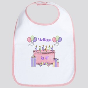 Personalized Birthday Girl Bib