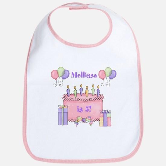 Personalized Birthday Girl Bib