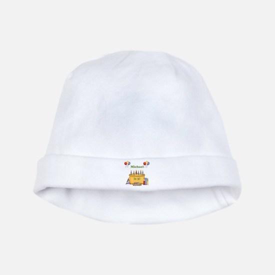 Boys Personalized Birthday baby hat