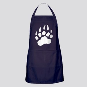 WHITE Bear Paw Apron (dark)