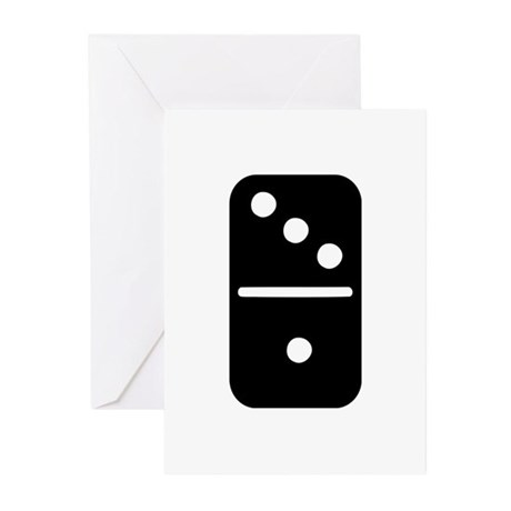 Domino Greeting Cards (Pk of 10)
