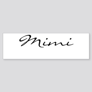 Mimi Simple Sticker (Bumper)