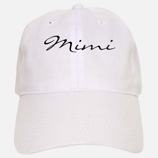 Mimi Simple Baseball Baseball Cap