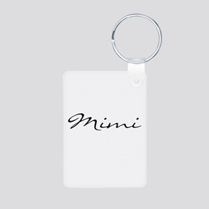 Mimi Simple Aluminum Photo Keychain