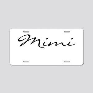 Mimi Simple Aluminum License Plate