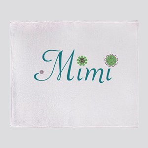 Spring Mimi Throw Blanket