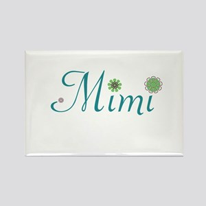 Spring Mimi Rectangle Magnet