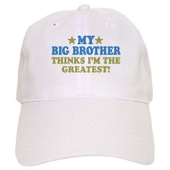 Greatest Big Brother Baseball Cap