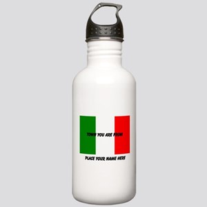 Personalized Flag Stainless Water Bottle 1.0L
