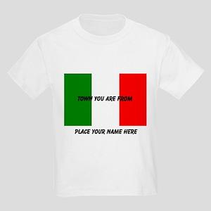 Personalized Flag Kids Light T-Shirt