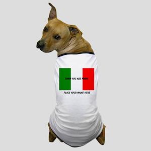 Personalized Flag Dog T-Shirt