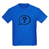 Question mark Kids T-shirts (Dark)