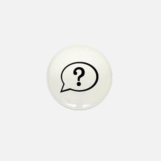 Speech bubble Mini Button