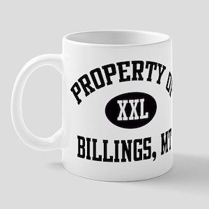 Property of Billings Mug