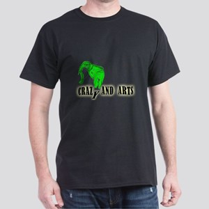 elephant green Dark T-Shirt
