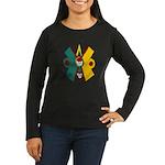 Ollin Women's Long Sleeve Dark T-Shirt