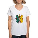 Ollin Women's V-Neck T-Shirt
