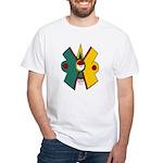 Ollin White T-Shirt