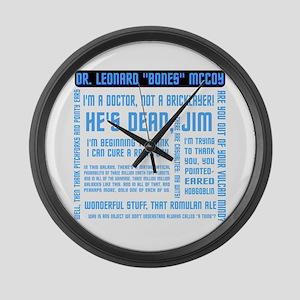 ST: McCoy Large Wall Clock