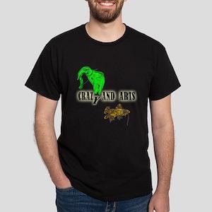 crazy elephant and crazy fish_Dark T-Shirt