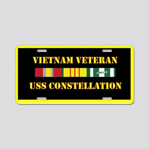 USS Constellation Aluminum License Plate