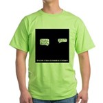 Techie Class Reunion Green T-Shirt