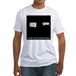 Techie Class Reunion Fitted T-Shirt