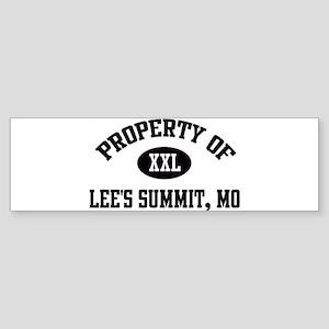 Property of Lee's Summit Bumper Sticker