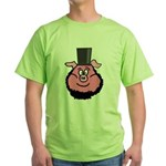 Abraham Linkoln Green T-Shirt