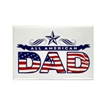 All American Dad #1 Rectangle Magnet (10 pack)