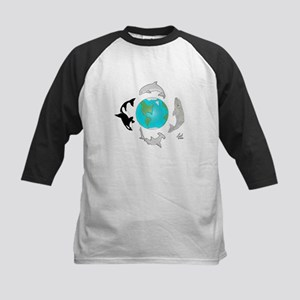 Earth Day Kids Baseball Jersey