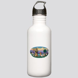 StFrancis-Dogs-Cats-Horse Stainless Water Bottle 1