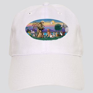 StFrancis-Dogs-Cats-Horse Cap