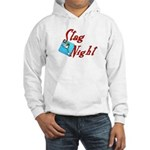 Stag Night Hooded Sweatshirt