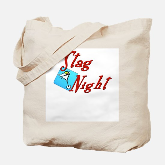 Stag Night Tote Bag