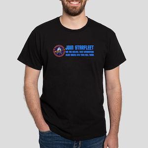 ST: Starfleet Dark T-Shirt