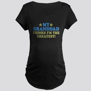 Greatest Granddad Maternity Dark T-Shirt