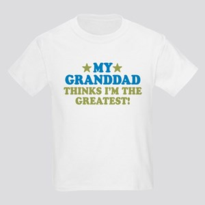 Greatest Granddad Kids Light T-Shirt