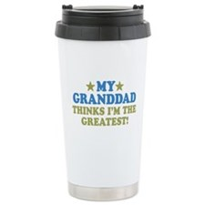 Greatest Granddad Stainless Steel Travel Mug