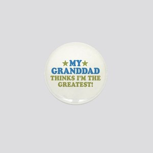 Greatest Granddad Mini Button