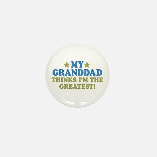 Greatest Granddad Mini Button