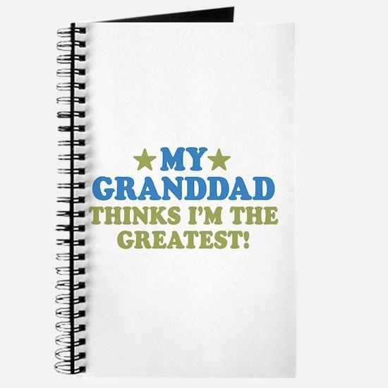 Greatest Granddad Journal