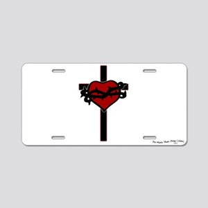 Aluminum License Plate - Sacred Heart