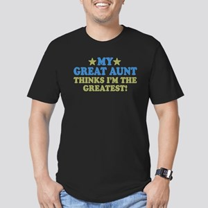 My Great Aunt Men's Fitted T-Shirt (dark)