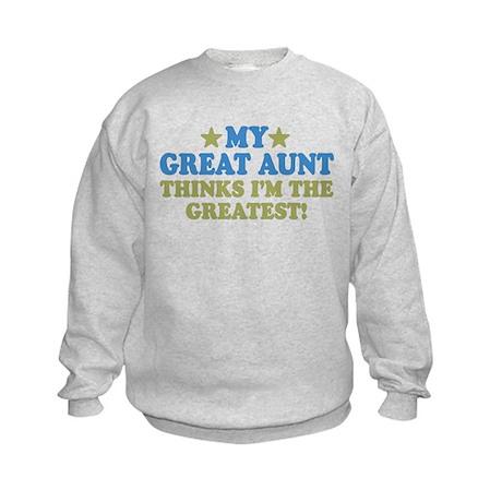 My Great Aunt Kids Sweatshirt